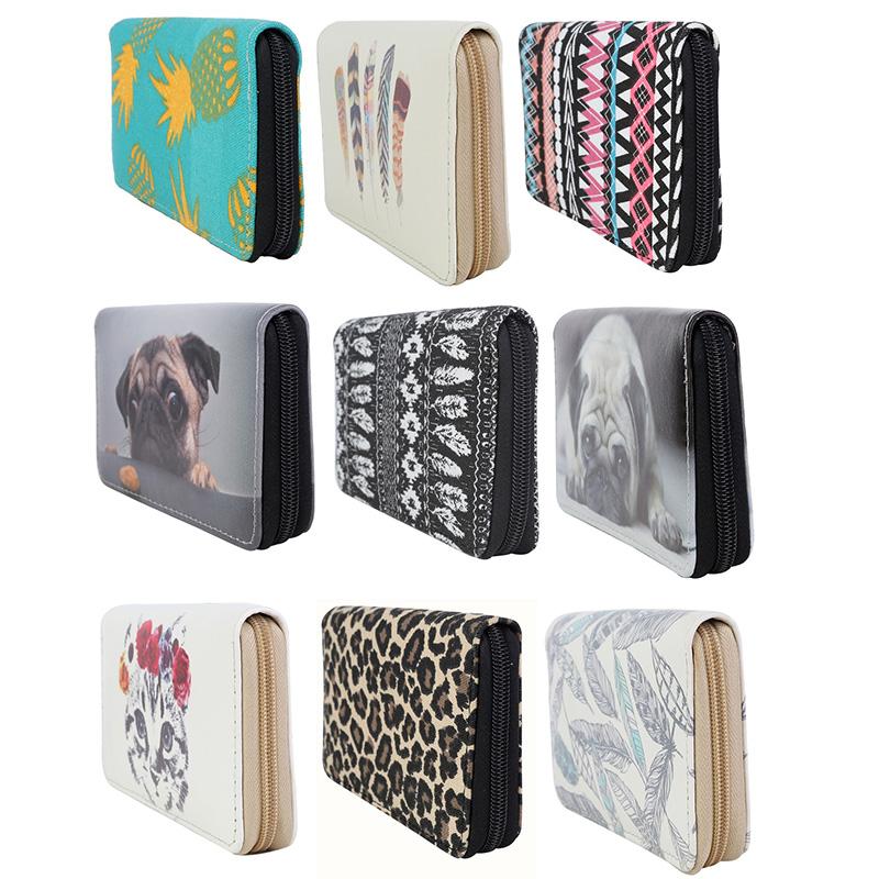damen geldbeutel geldb rse xxl brieftasche portemonnaie portmonee hund katze ebay. Black Bedroom Furniture Sets. Home Design Ideas