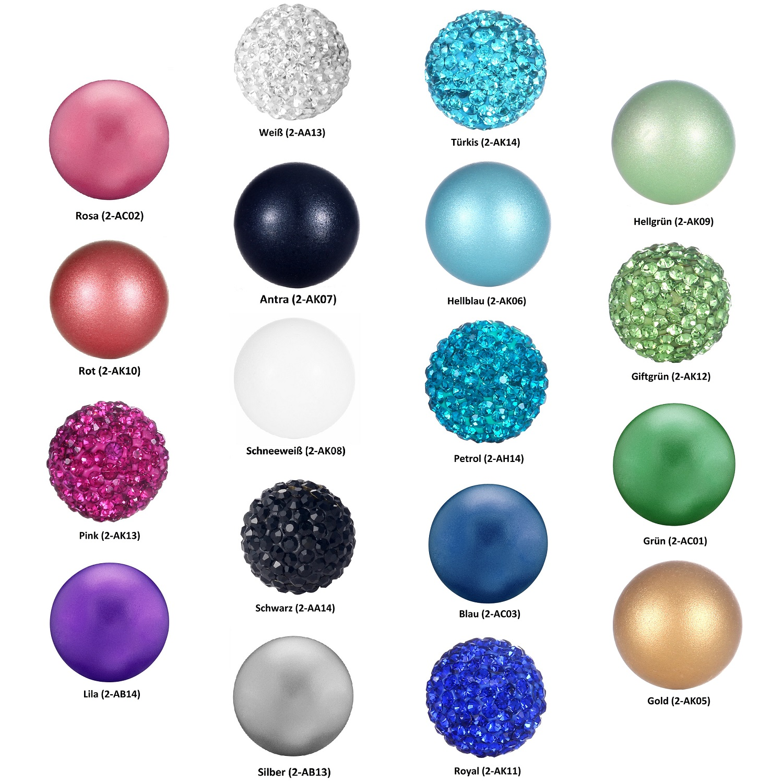 KUS 1 Mintgrün 18mm Bola Perlen Mexican Ball Klangkugel für Anhänger Käfig