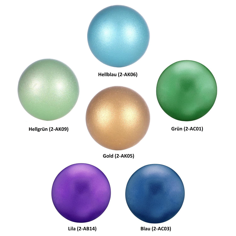 5 Seeblau 16mm Bola Perlen Mexican Ball Klangkugel für Anhänger Käfig