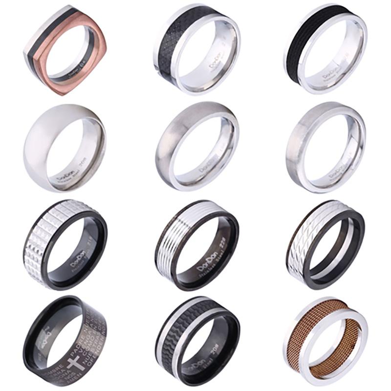Männer schmuck  Edelstahlring Herrenring Fingerring Ring Ringe Männerring ...