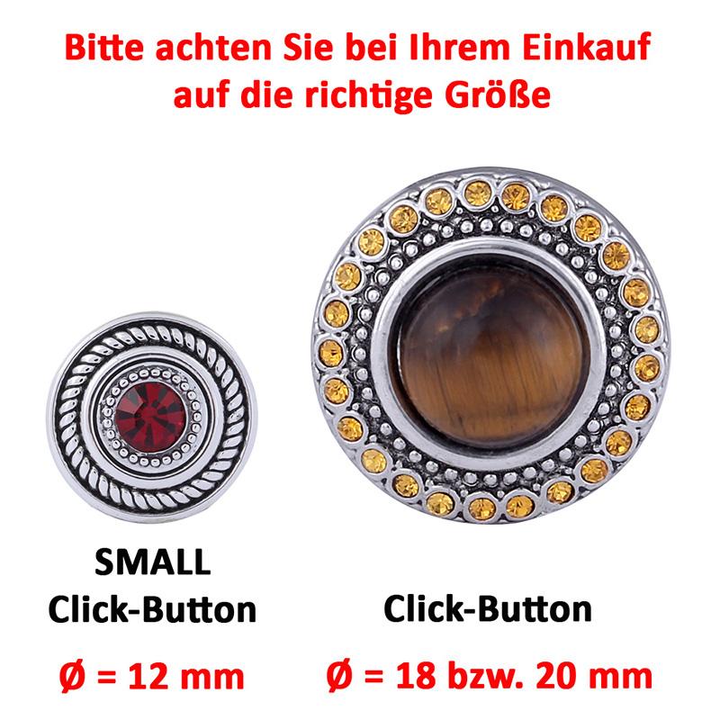 CHUNK DRUCKKNOPF KNÖPFE Strass Chunks Button Snap Bead Ring Kette Ohrringe